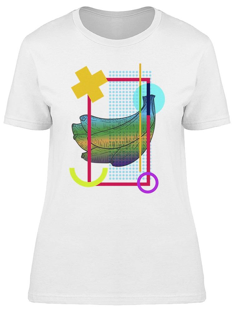 Abstract Composition Bananas Tee Women's -Image by Shutterstock