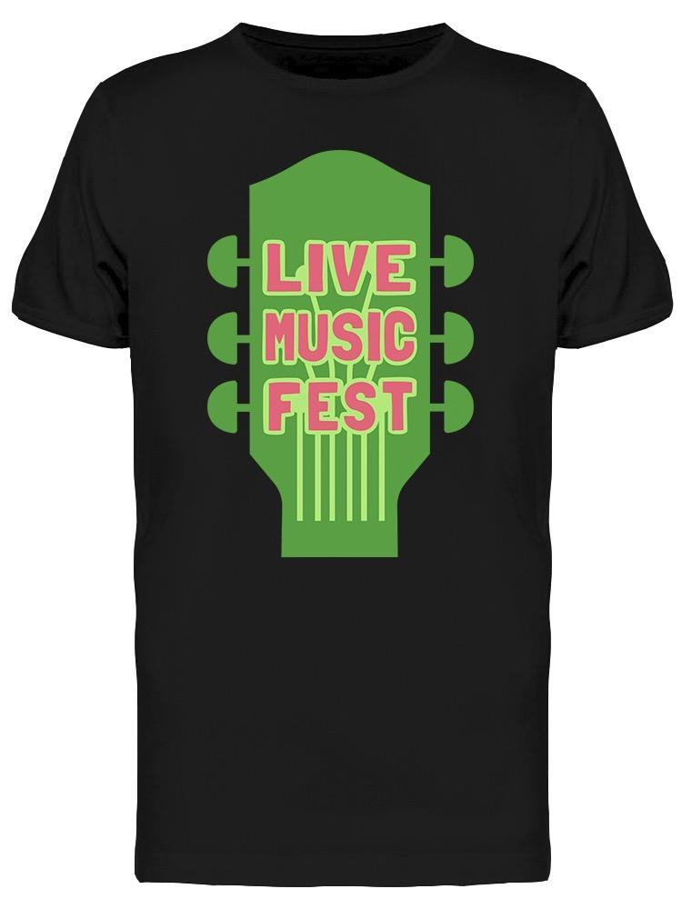 I Just Need A Live Music Fest Tee Men's -Image by Shutterstock