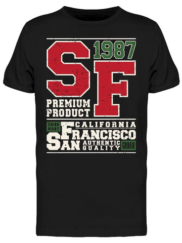 1987 S.F. Premium Product Tee Men's -Image by Shutterstock