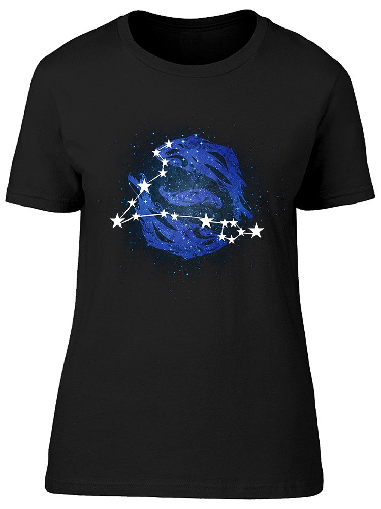 Horoscope Constellation Pisces Tee Women's -Image by Shutterstock