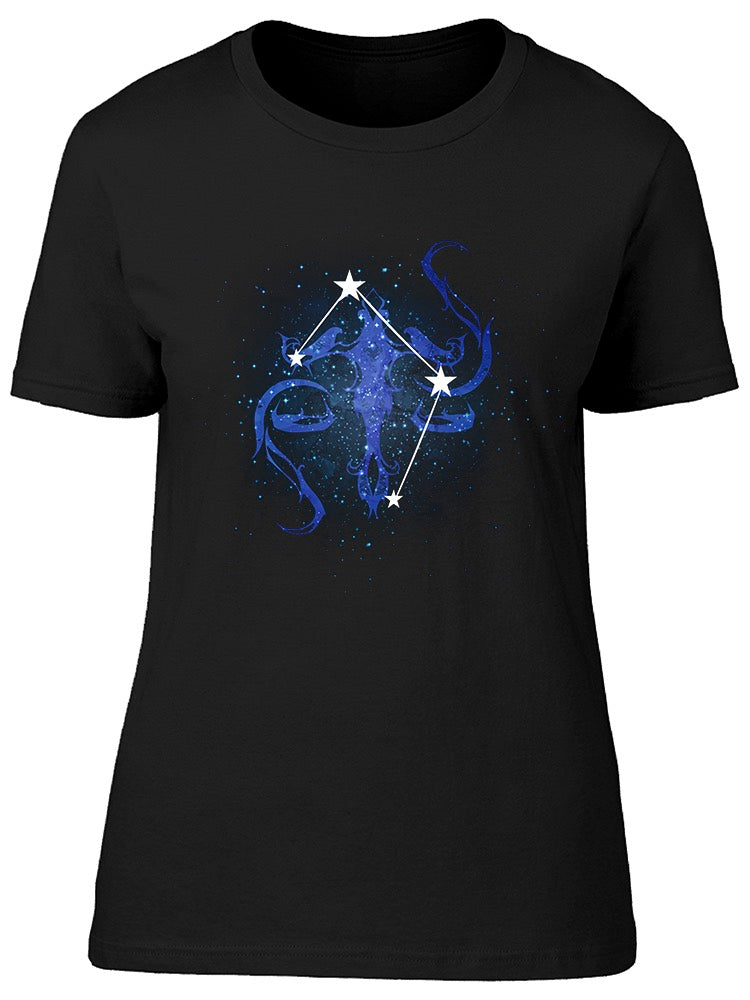 Horoscope Constellation Libra Tee Women's -Image by Shutterstock