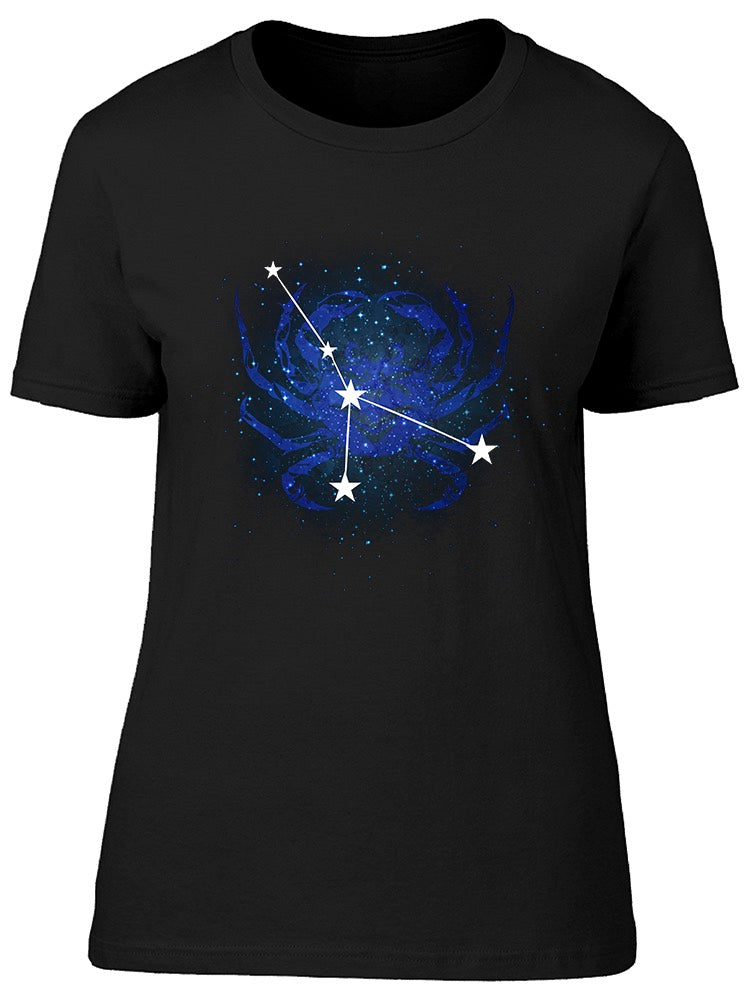 Horoscope Constellation Cancer Tee Women's -Image by Shutterstock