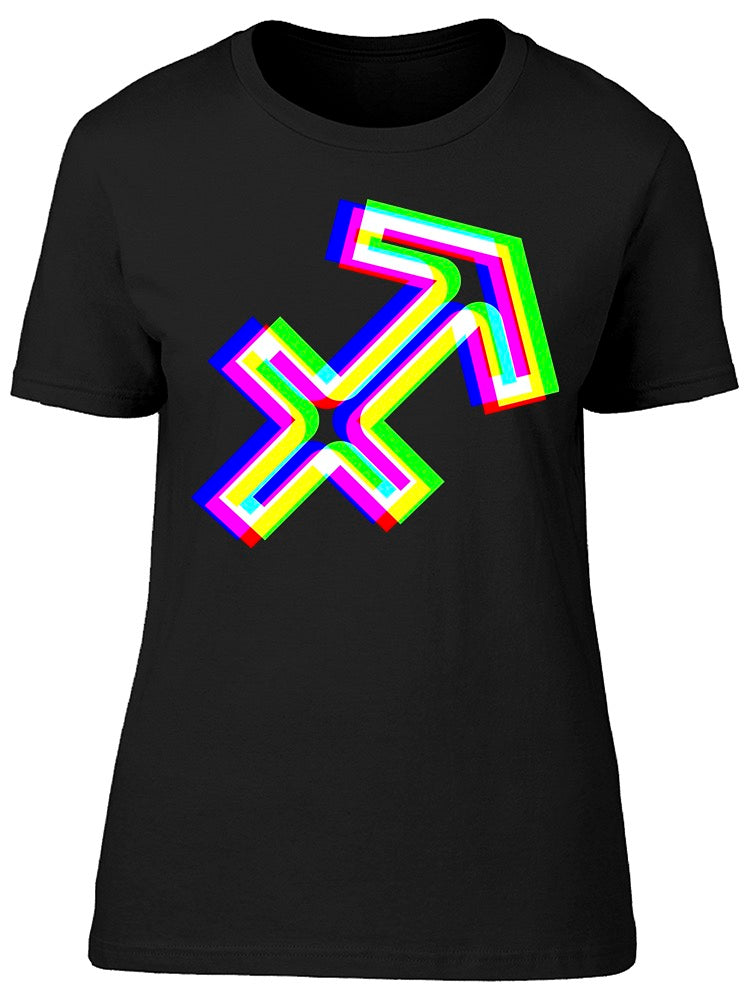 Sagittarius Sign Unfocused Tee Women's -Image by Shutterstock