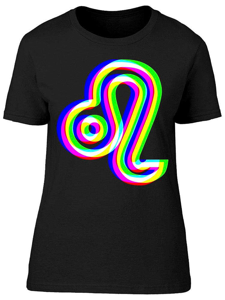Leo Sign Unfocused  Tee Women's -Image by Shutterstock