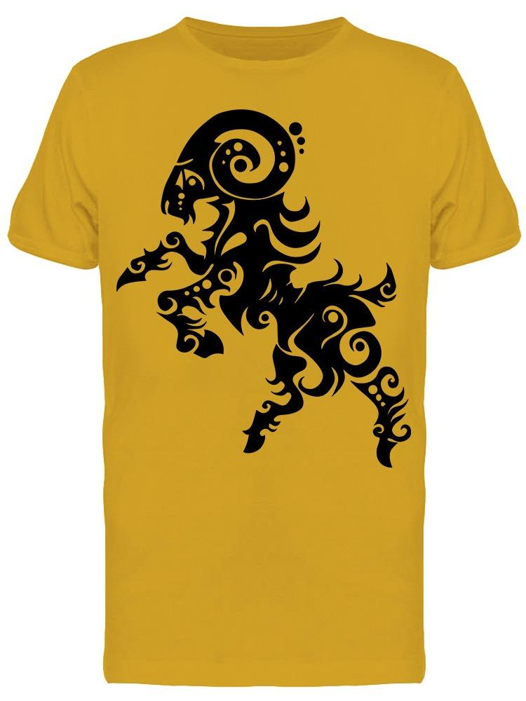 Sign Symbol Of Aries Tribal Tee Men's -Image by Shutterstock