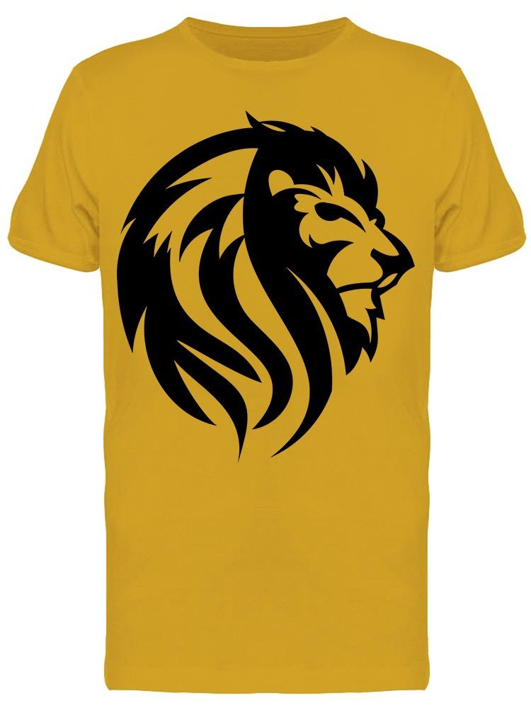 Head Of Lion  Tee Men's -Image by Shutterstock