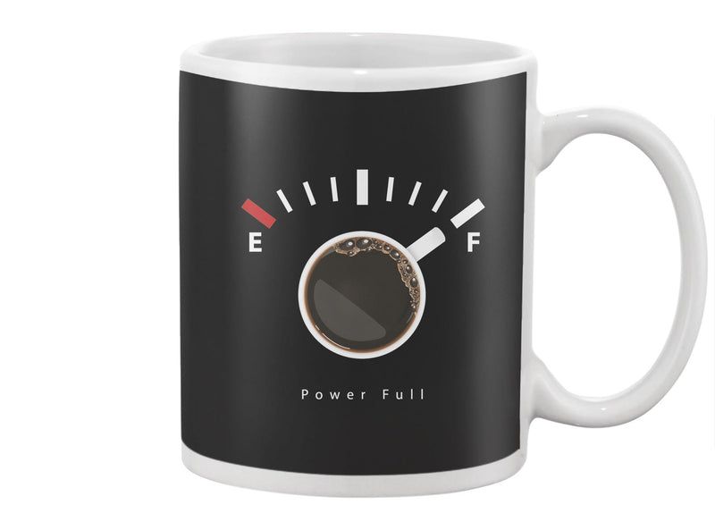Coffee Power Full Mug -Image by Shutterstock