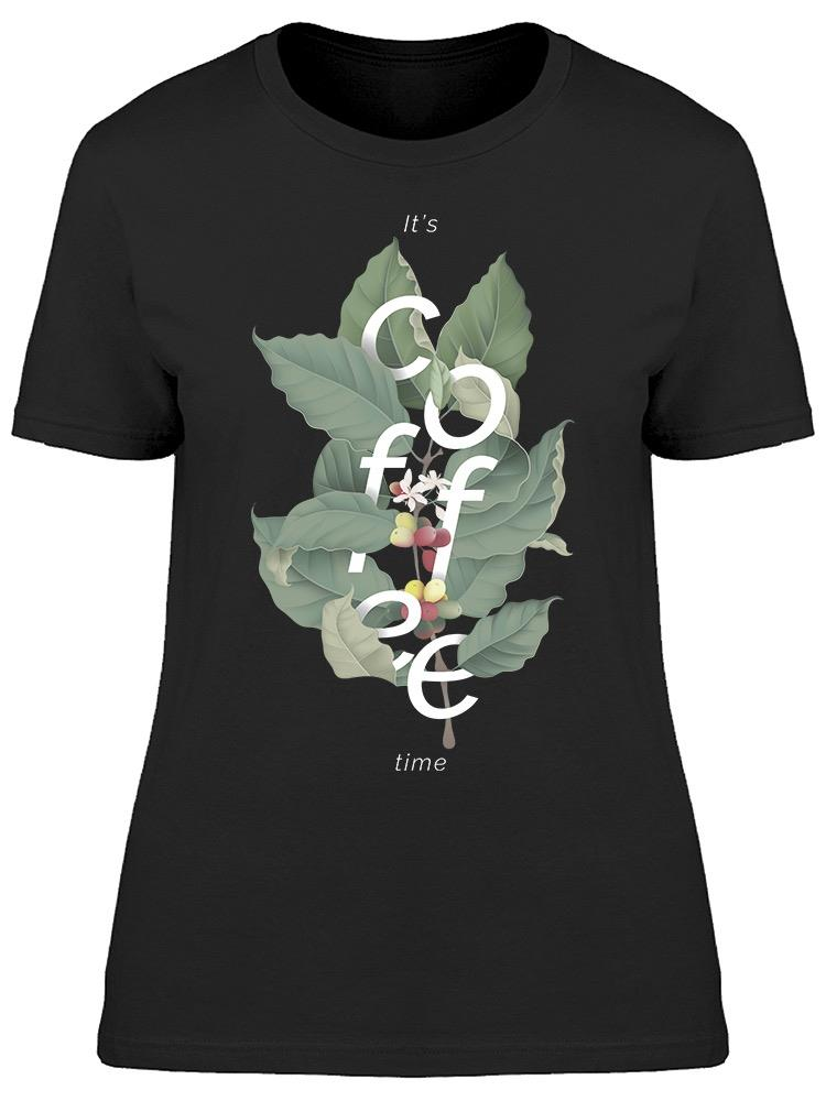 Botanical Coffee Tee Women's -Image by Shutterstock
