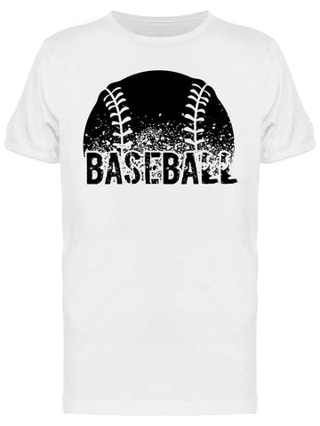 : Baseball And Ball Tee Men's -Image by Shutterstock