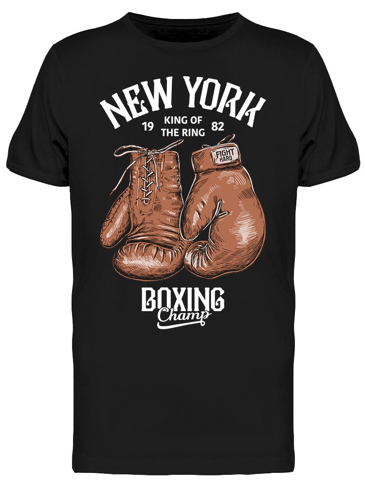 New York Boxing Champ Tee Men's -Image by Shutterstock