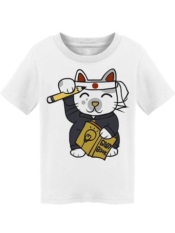 Student Maneki Neko Cat Cute Tee Toddler's -Image by Shutterstock