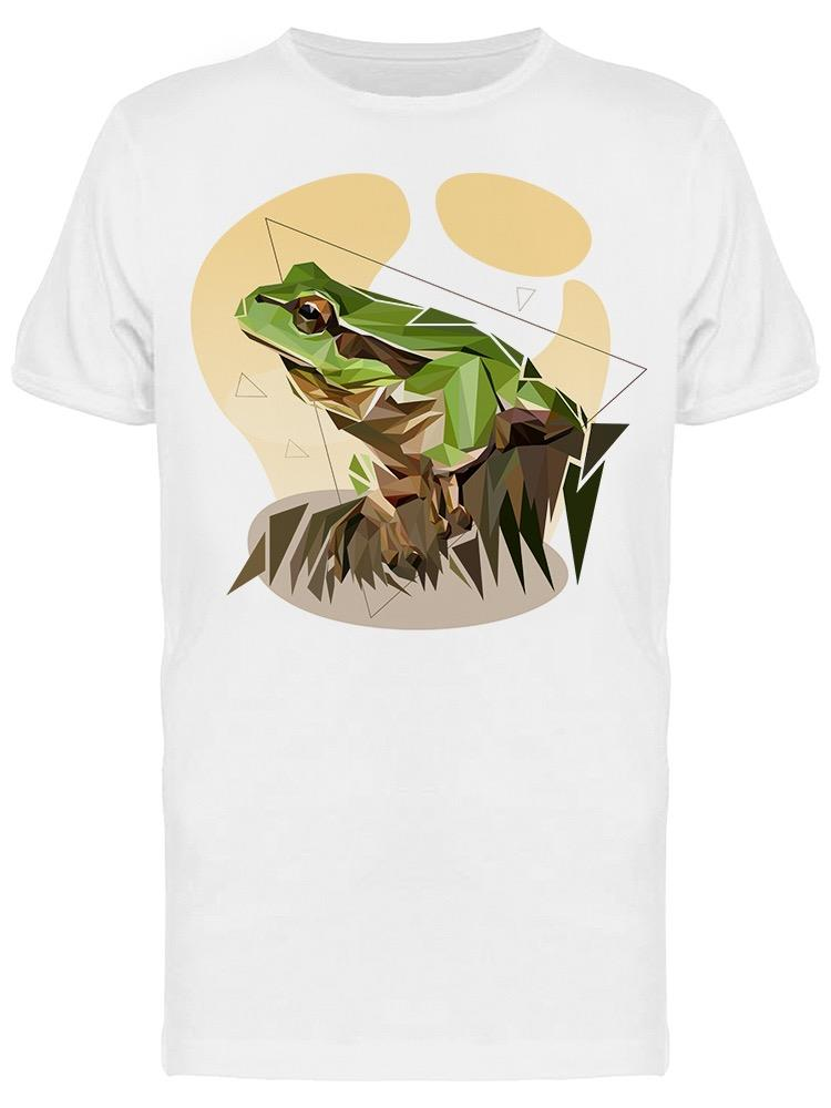 Frog Low Poly Design Tee Men's -Image by Shutterstock