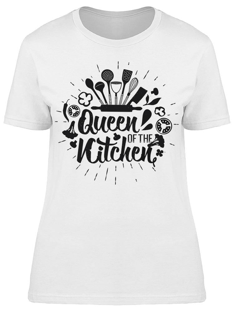 Queen Of The Kitchen Tee Women's -Image by Shutterstock