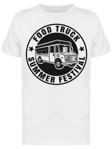 :food Truck, Summer Festival Tee Men's -Image by Shutterstock