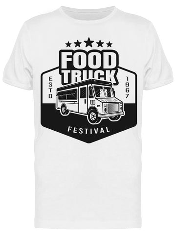 : Food Truck Tee Men's -Image by Shutterstock