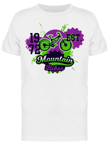 1972 Mountain Bikes Tee Men's -Image by Shutterstock