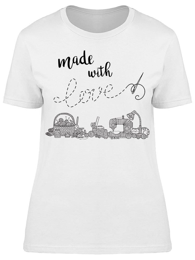 Made In Love Knit Sketch Tee Women's -Image by Shutterstock