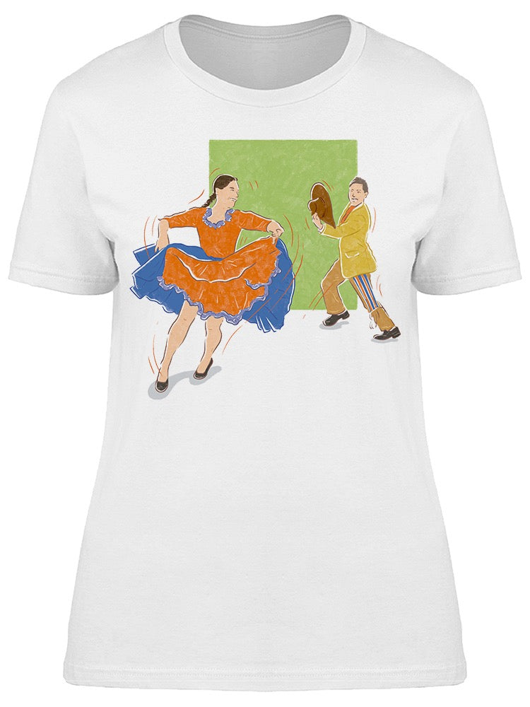Mexican Dance Couples Tee Women's -Image by Shutterstock