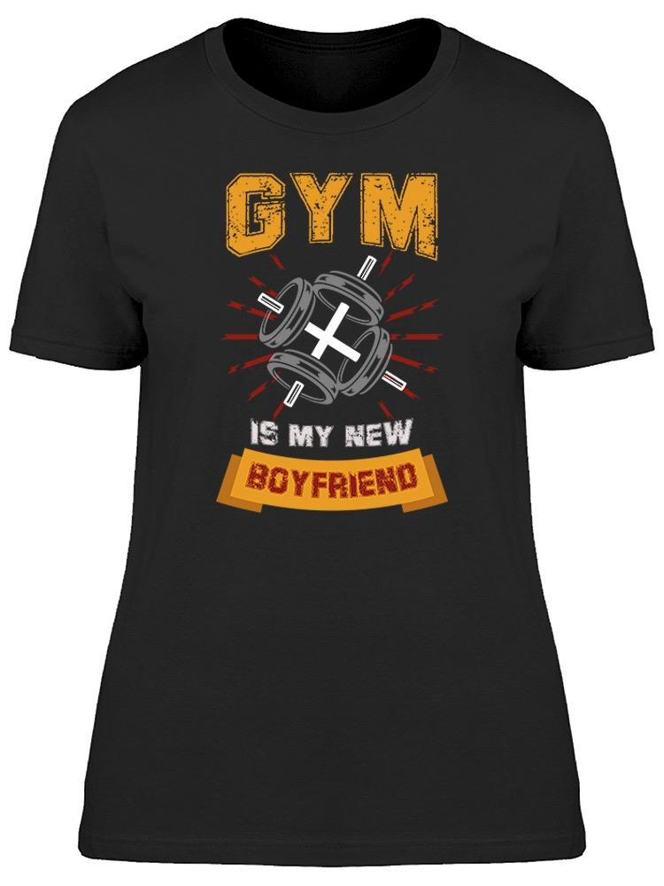 My Boyfriends Name Is Gym Tee Women's -Image by Shutterstock