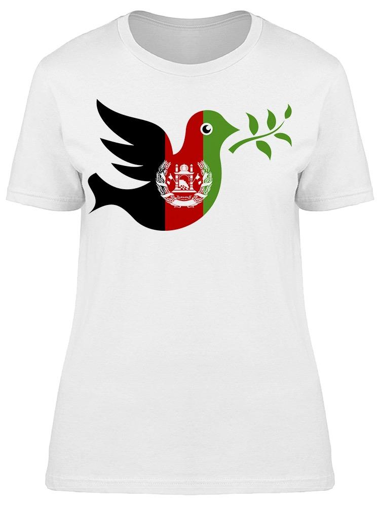 Dove With Olive Afghanistan  Tee Women's -Image by Shutterstock