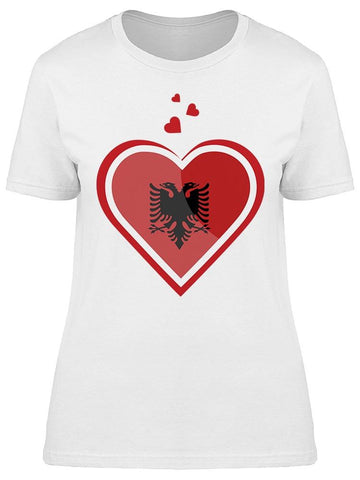 Albania Country Love Tee Women's -Image by Shutterstock