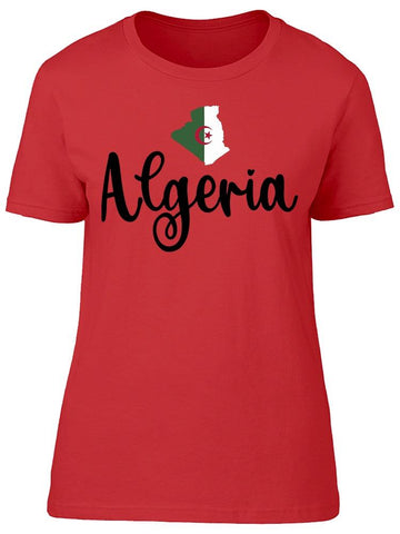 Algeria Country Tee Women's -Image by Shutterstock