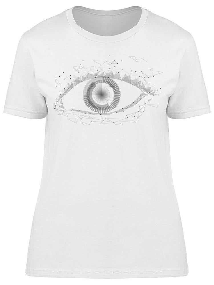 Android Cyborg Eye Tee Women's -Image by Shutterstock