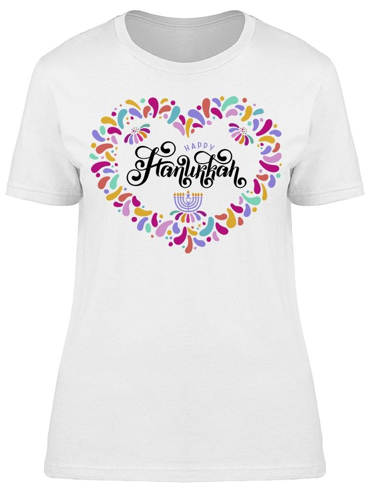 Colorful Hanukkah Day Tee Women's -Image by Shutterstock