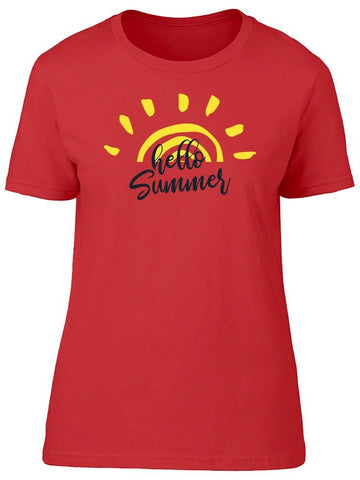 I'm Here Summer Tee Women's -Image by Shutterstock