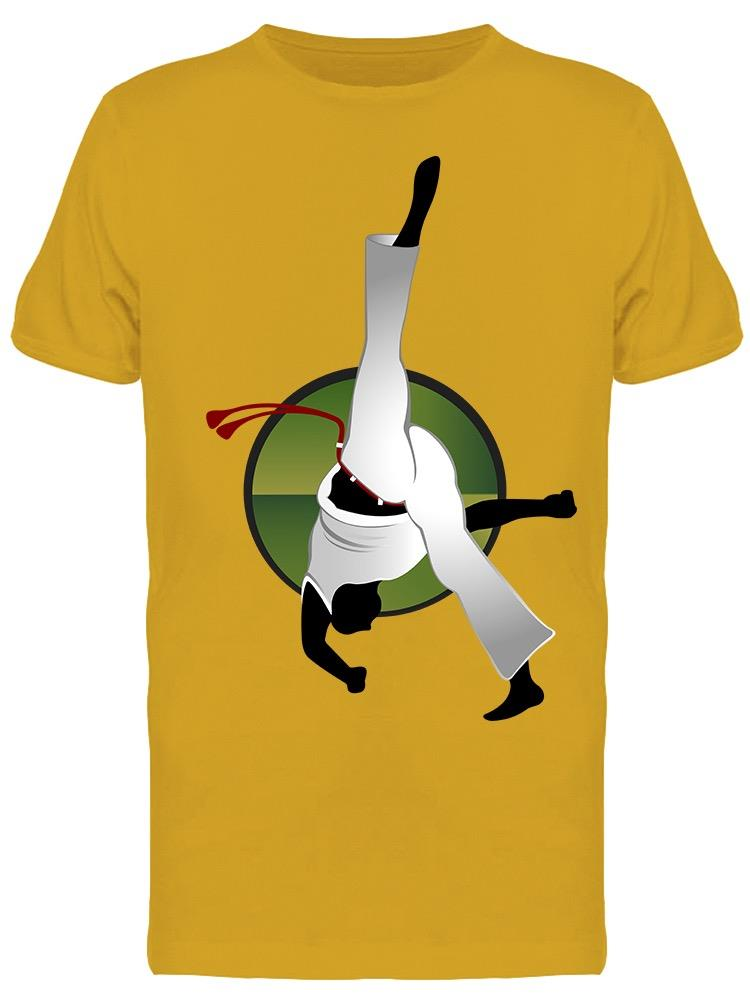 Capoeira Movement Tee Men's -Image by Shutterstock