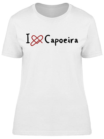 Icon Capoeira Love Tee Women's -Image by Shutterstock