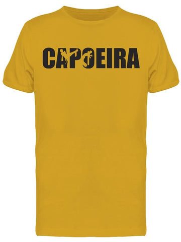 Capoeira Word Silhouettes Tee Men's -Image by Shutterstock