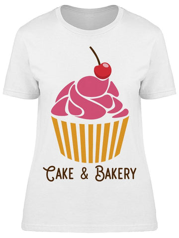 Cake And Bakery Tee Women's -Image by Shutterstock