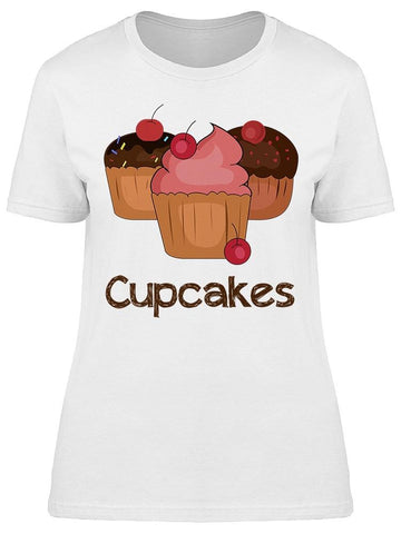 Sweet Cupcakes Tee Women's -Image by Shutterstock
