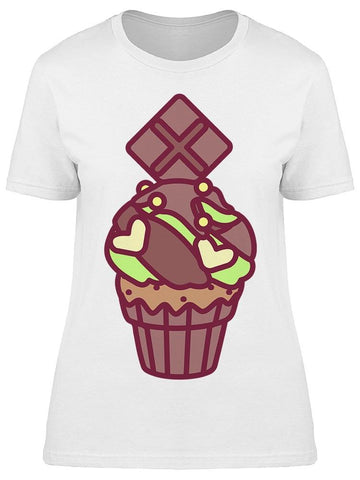 Delicious Chocolate Cupcake Tee Women's -Image by Shutterstock