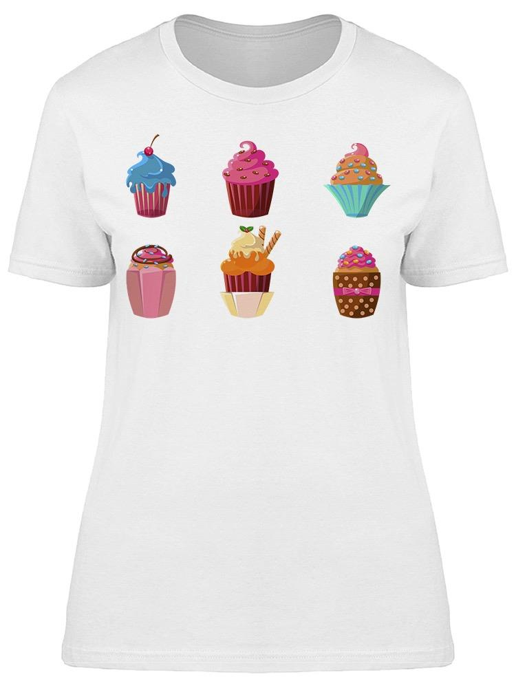 Delicious Cupcakes  Tee Women's -Image by Shutterstock