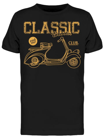 A Classic Scooter, Club Tee Men's -Image by Shutterstock