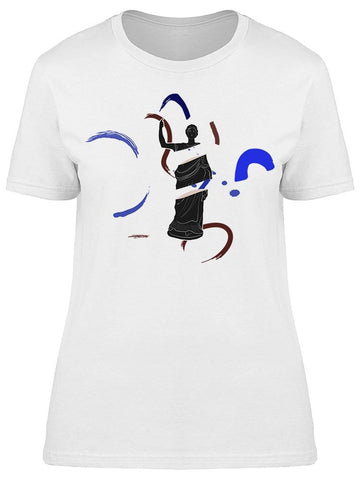 Abstract Design Of Sculpture Tee Women's -Image by Shutterstock