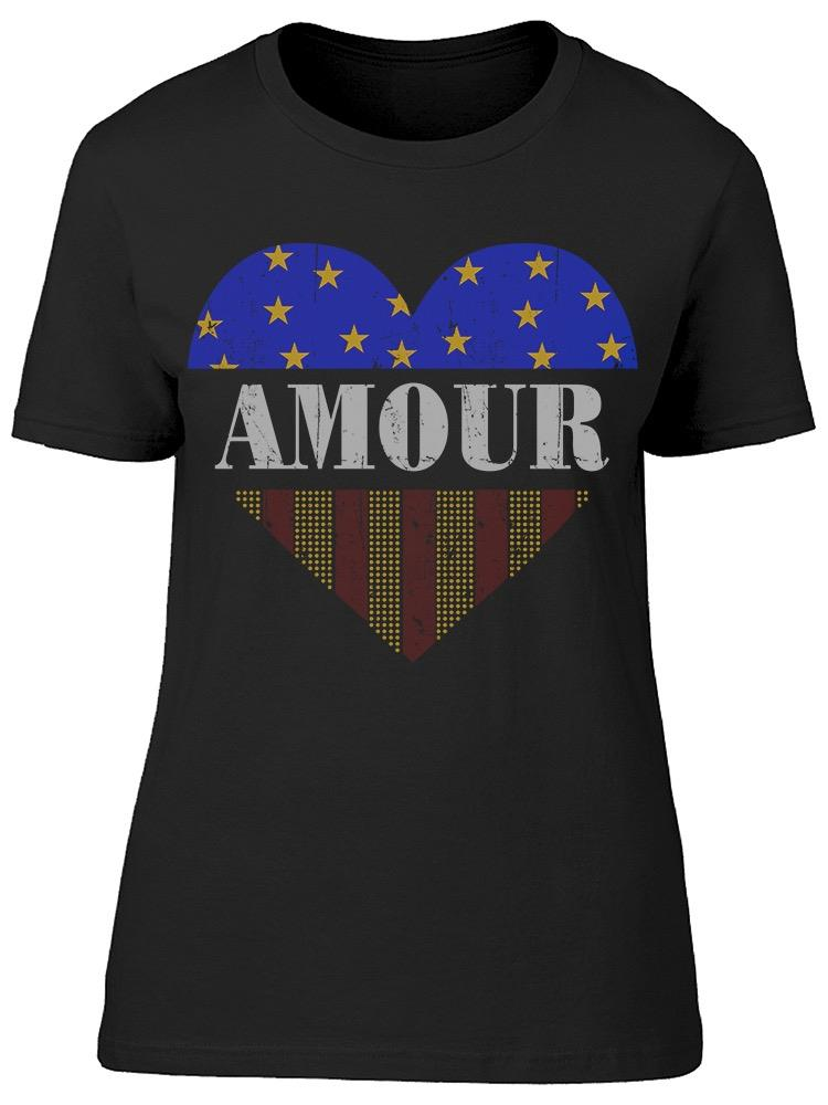 Amour France Tee Women's -Image by Shutterstock