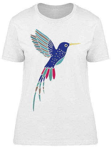 Art Hummingbird Tee Women's -Image by Shutterstock