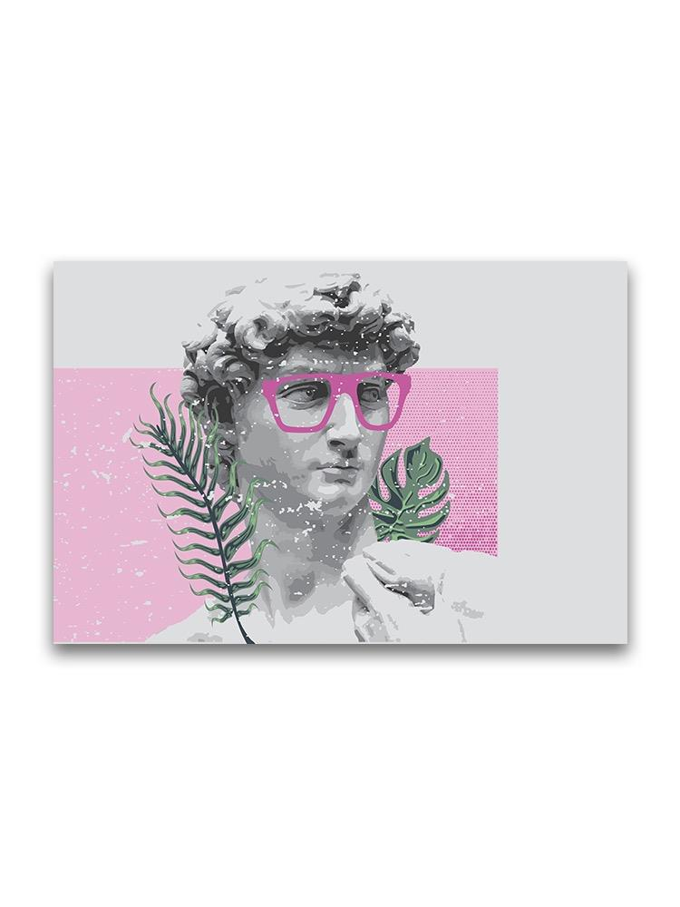 David Sculptutre With Glasses Poster -Image by Shutterstock