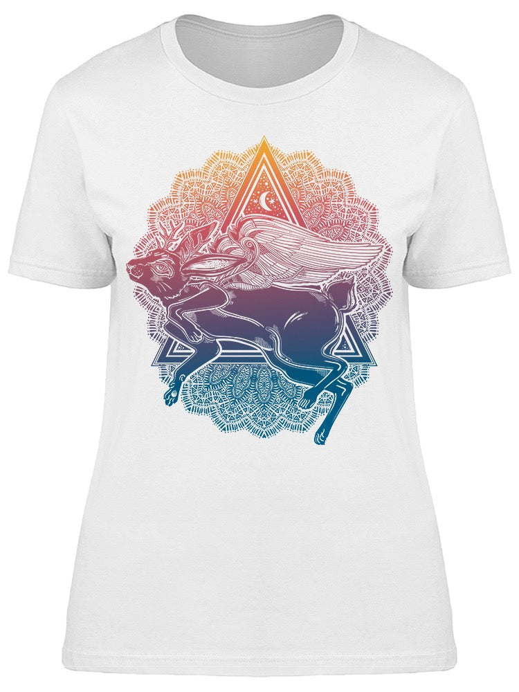 Rabbit Wings Pyramid Tee Women's -Image by Shutterstock