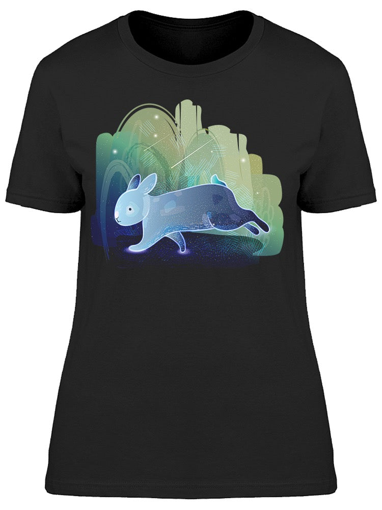 Rabbit Runs In The Forest Tee Women's -Image by Shutterstock