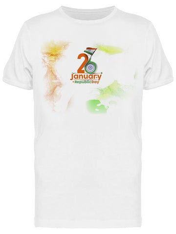 26 January Republic Day, India Tee Men's -Image by Shutterstock Men's T-shirt