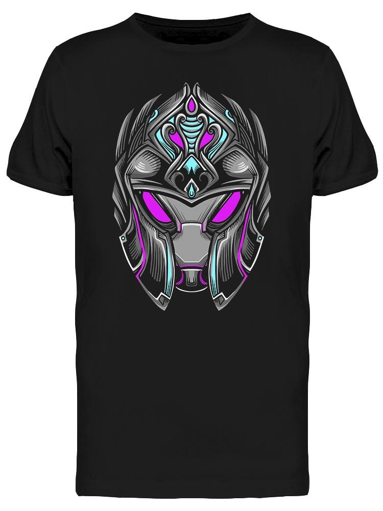 Purple Knight Warrior Robot  Tee Men's -Image by Shutterstock
