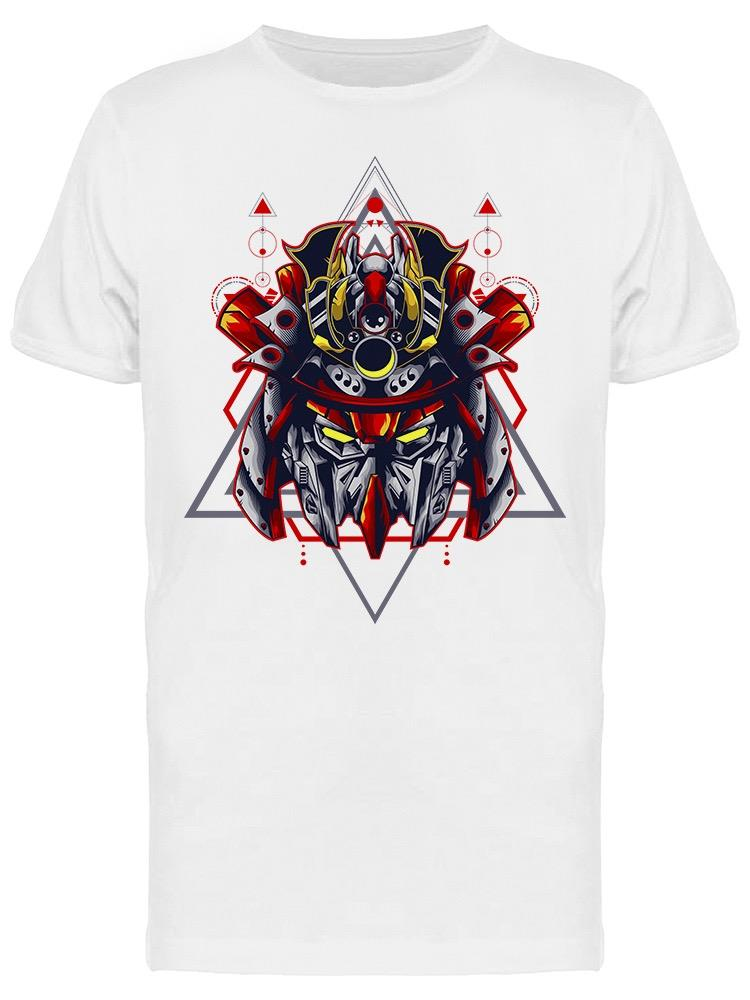 Ninja Robot Mecha Head Warrior Tee Men's -Image by Shutterstock