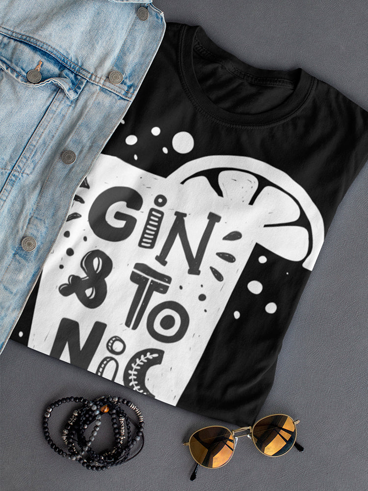 Gin And Tonic Tee Women's -Image by Shutterstock