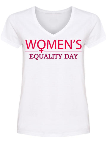 Equality Day Women's V Neck Women's -Image by Shutterstock