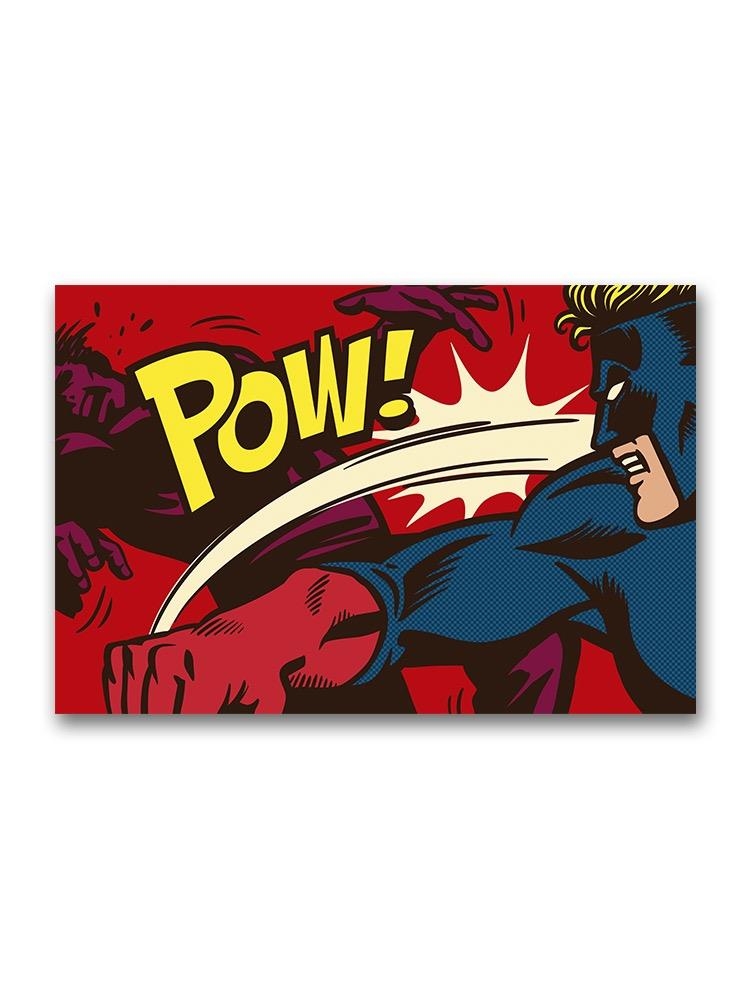 Comic Book Action Poster -Image by Shutterstock
