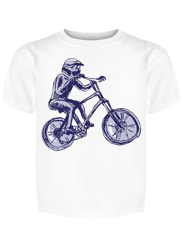 A Cyclist Riding A Bike Tee Boy's -Image by Shutterstock